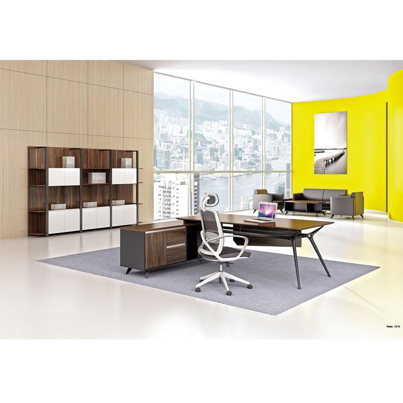 为何很多公司挑选板式办公家具?